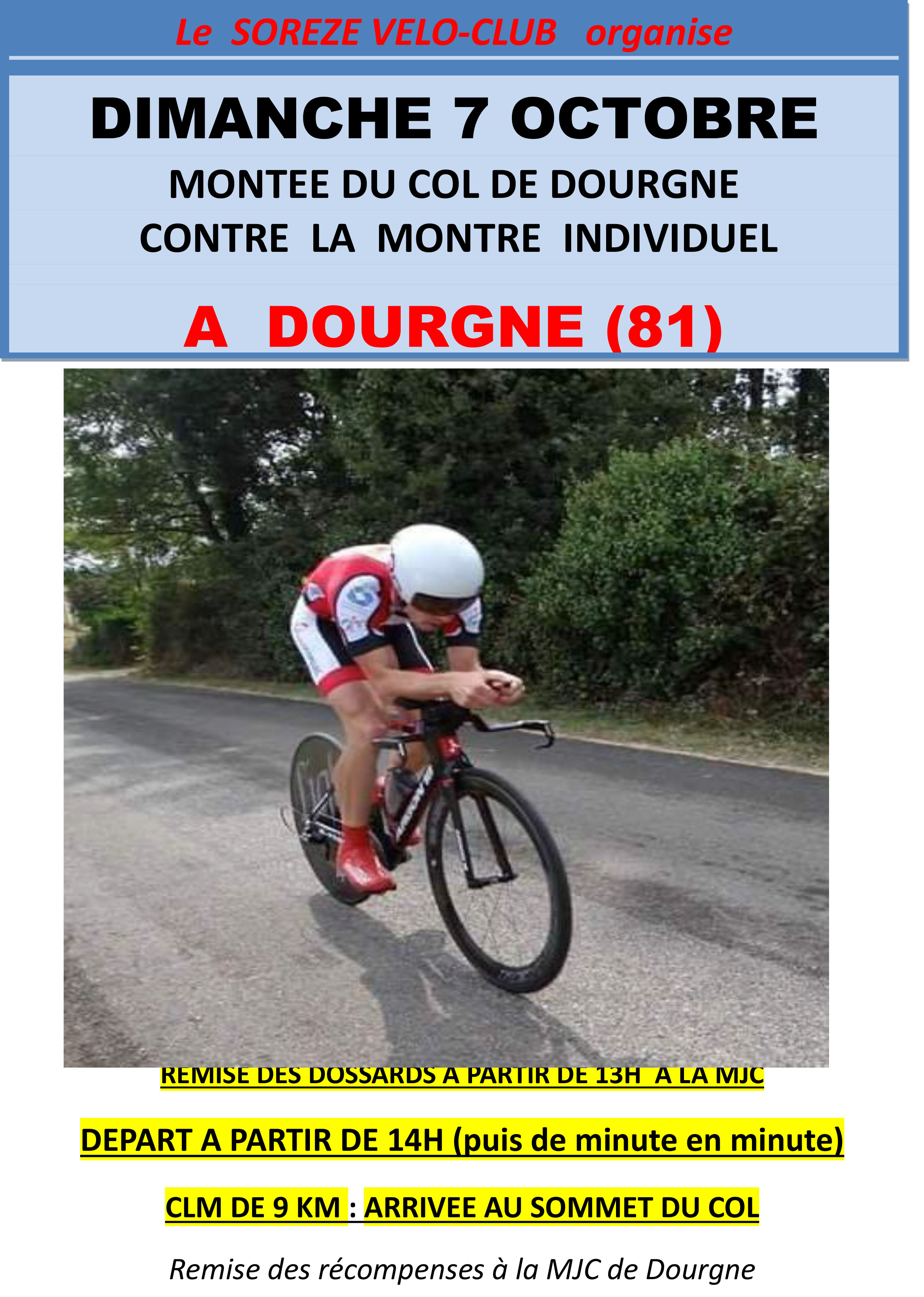 affiche CLM Dourgne
